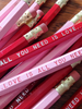 Charming Valentine's Day Pencils! Sweet little gift idea. / Earmark Social Goods