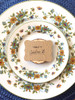 Set of 24 Faux Bois Gift Tags - great for seating cards too!