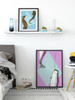 Narwhal printable art by Earmark Social Goods