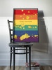 Create Happiness Splatter Rainbow Art Print
