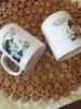 Coffee mug with poison joke
