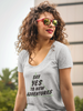 Yes to Adventure Ladies' Scoopneck Tee