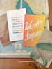 Wanderlust-inspired eco notebooks, waiting to be loved by you!