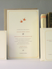 Charming and Rustic yet Traditional wedding invitations by Earmark Social Goods.