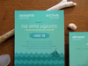 I wish I was getting married on a boat. Loving these nautical-inspired invitations designed around the movie the Life Aquatic by Wes Anderson.