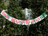Loving this party garland for a luau!