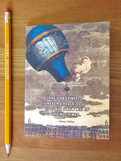 Destination Notebook