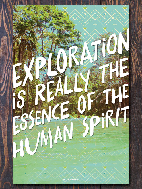 Exploration Art Print