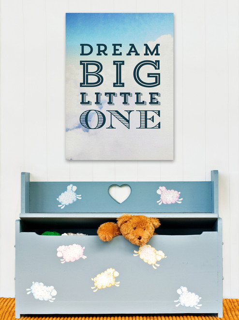 Dream Big Clouds Art Print