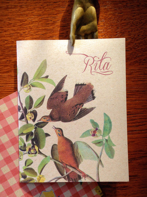 10 Oiseaux Personalized Notes