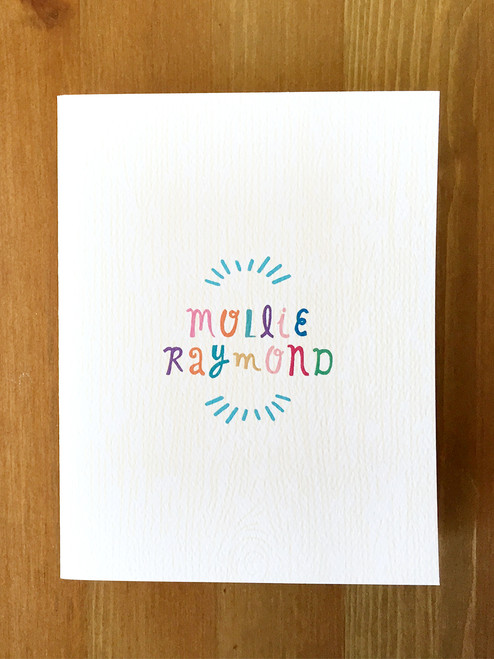 Fun notecard set!