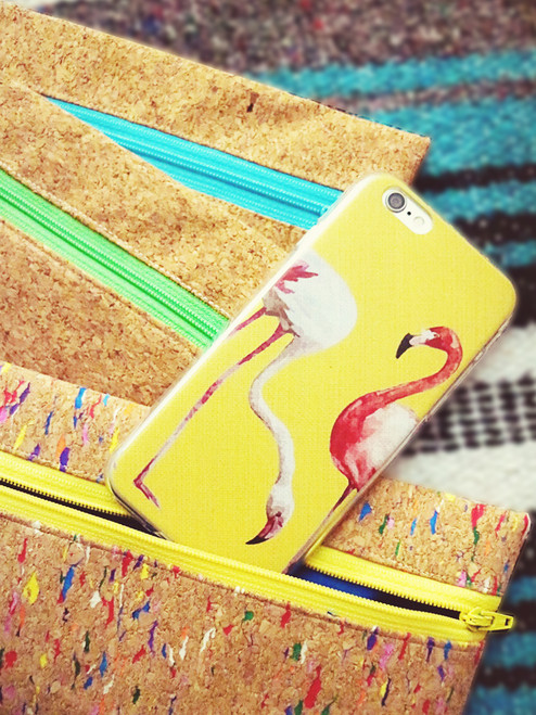 Loving these fun Flamingo iPhone cases.  Feels summery and lively!