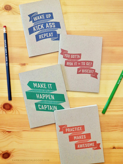 Super fun Wise Words Notebook Set!