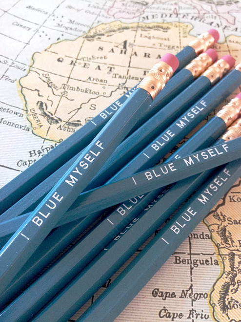 I Blue Myself Pencil 6 Pack