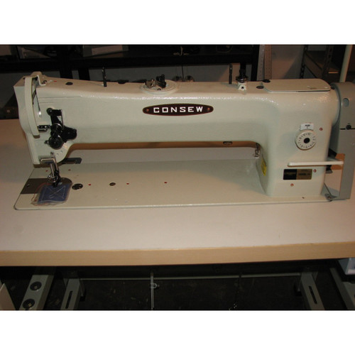 """206RBL-18 Single Needle Walking Foot 18"""" Long Arm Machine (Complete with Table, Motor & Stand)"""