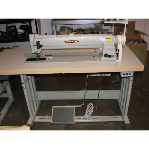 "255RBL-25 Single Needle Walking Foot 25"" long arm Machine (Complete with Table, Motor & Stand)"