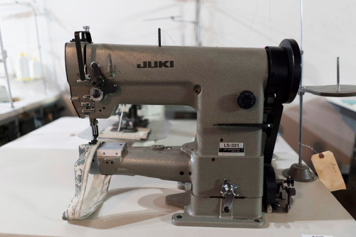 Used LS-321 Cylinder Arm (Complete with table, motor & stand)