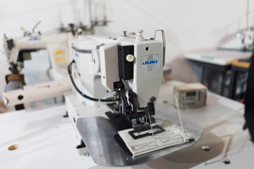 Used LK-1920 Tacker (Complete with Table, Motor & Stand)