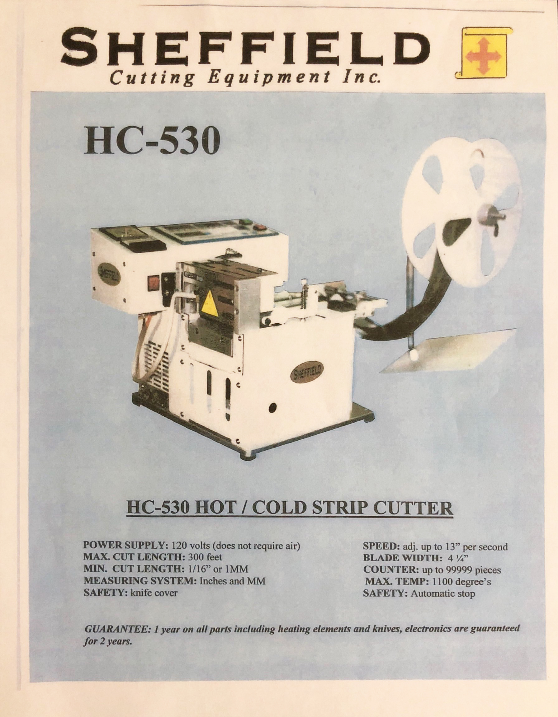 HC-530 (w/Table)