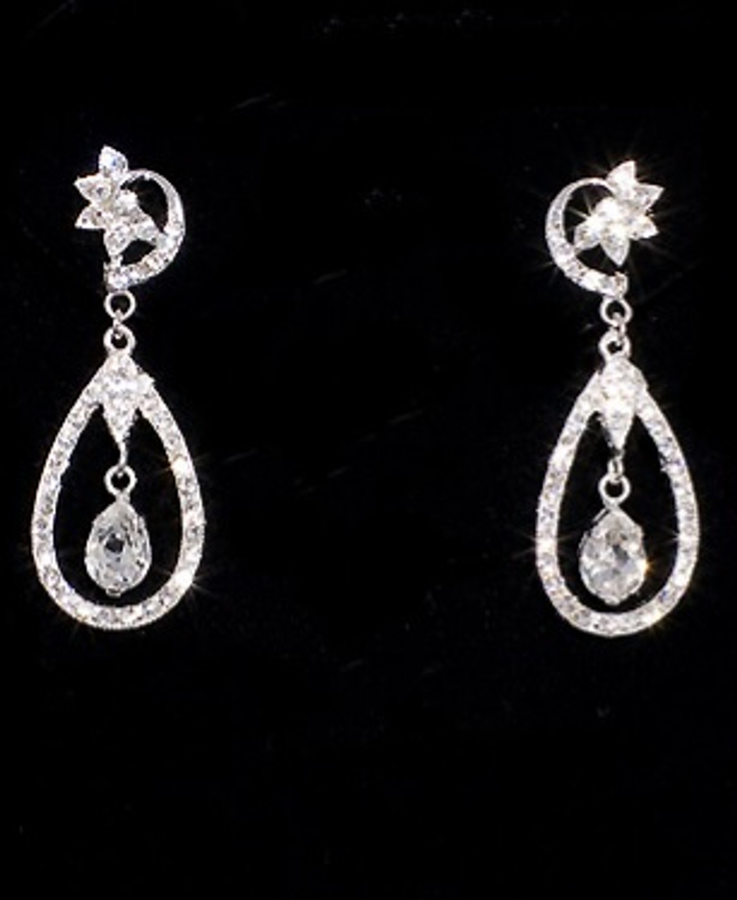 Bel aire bridal earrings ea220 wedding jewelry for Bel aire bridal jewelry