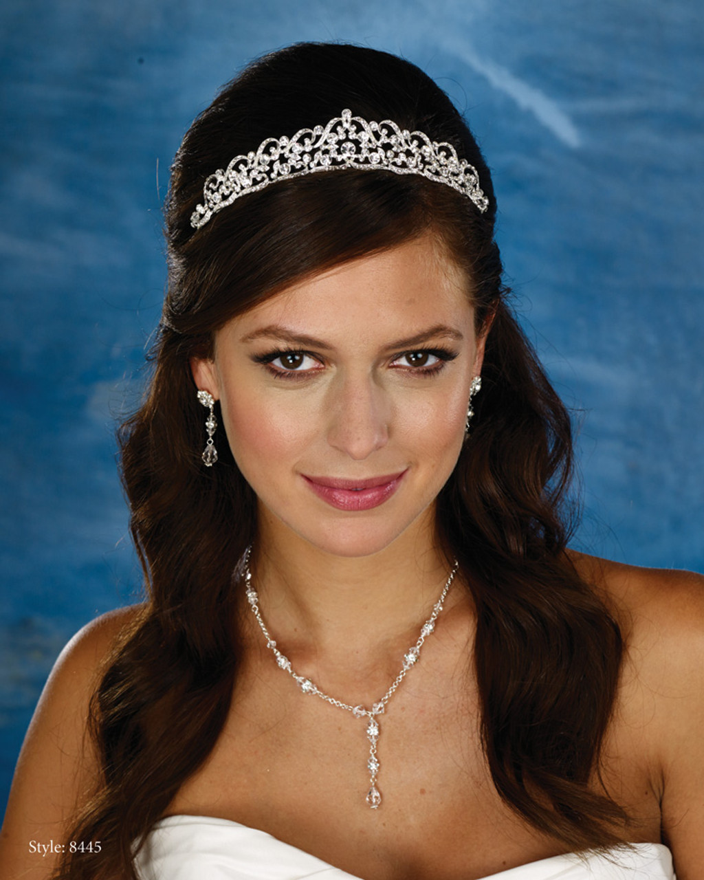 spyke hair style marionat bridal headpieces style 8445 marionat collection 8445