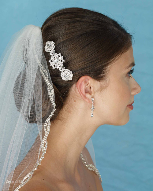 Marionat Bridal 4672 Rhinestone Clip- Le Crystal Collection