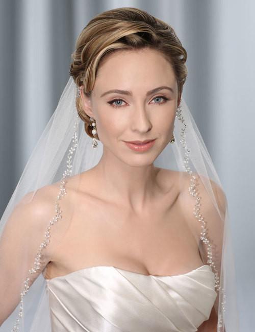 Bel Aire Bridal Veils V7155 Elbow Length