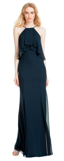 #LEVKOFF - Bill Levkoff Bridesmaid Dress Style 7055 - Chiffon