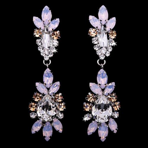En Vogue Bridal Style E1968 - Rhinestone Earrings