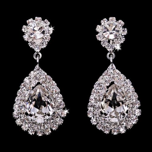 En Vogue Bridal Style E1966 - Rhinestone Earrings
