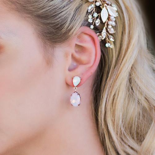 En Vogue Bridal Style E1961 - Rhinestone Earrings