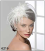 Bel Aire Bridal Accessory  6216 Flower Wedding Headpiece