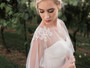 En Vogue Bridal Capelet CP1849 - Beaded design