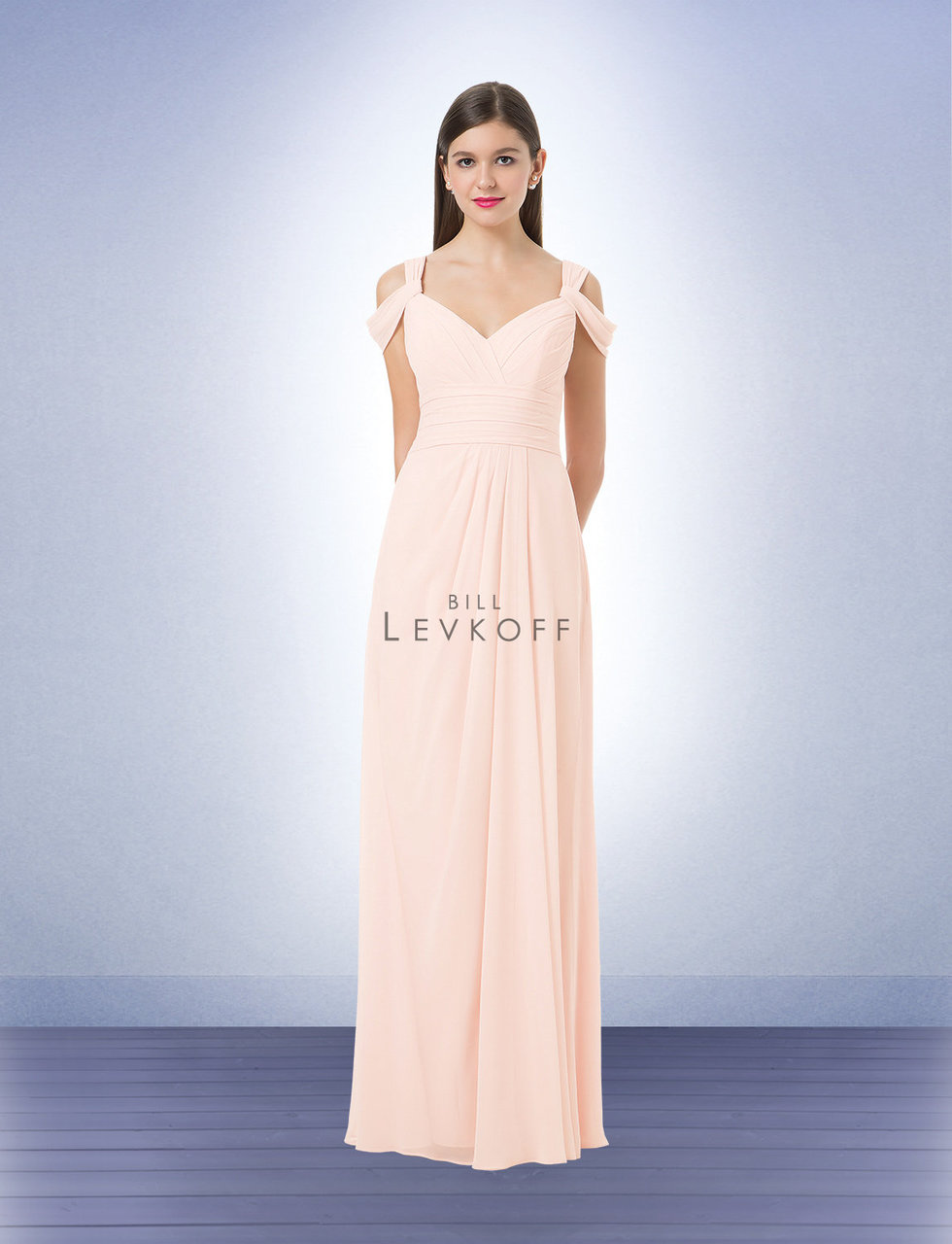 Levkoff bridesmaid dress colors that go with navy