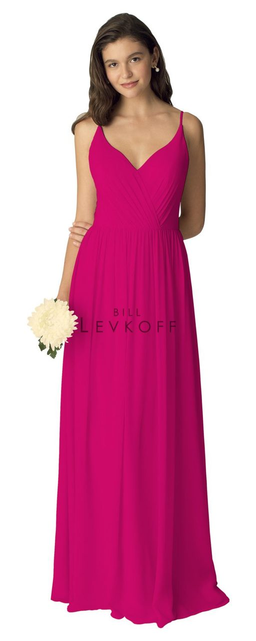 Bill Levkoff Bridesmaid Dress Style 1273 - Chiffon Dress