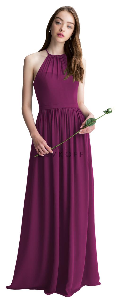 Bill Levkoff Bridesmaid Dress Style 1403 - Chiffon Dress