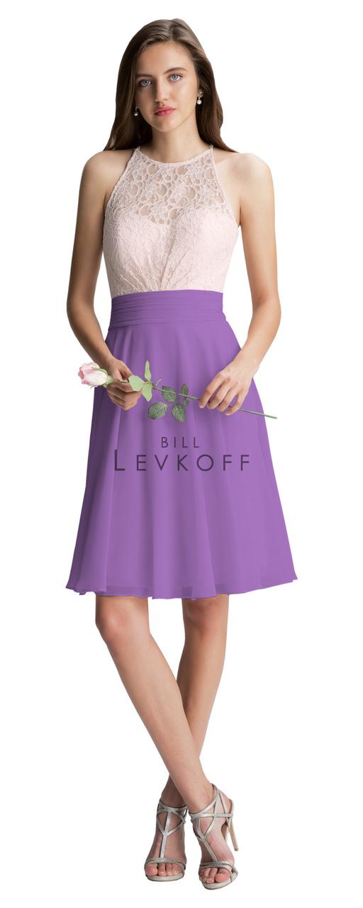 Bill Levkoff Bridesmaid Dress Style 1401 - Chiffon Dress
