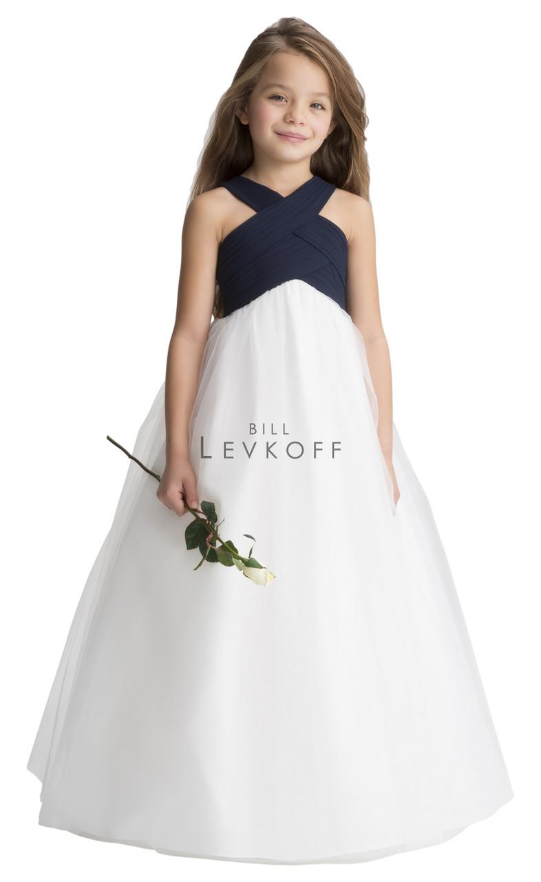 Bill Levkoff Flower Girl Dress Style 121801 Chiffon Dress Flower
