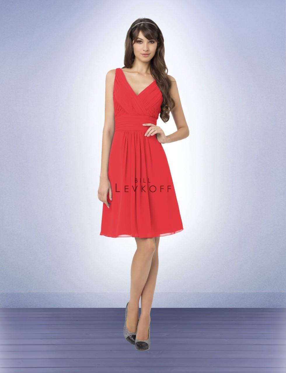 d58173ffb4 Bill Levkoff Bridesmaids Dress 762