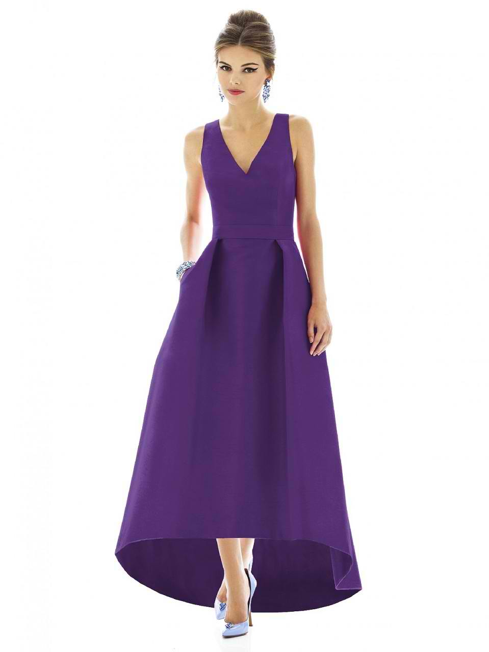 Alfred Sung Bridesmaids Dress D589 by Dessy Bridesmaids Dresses