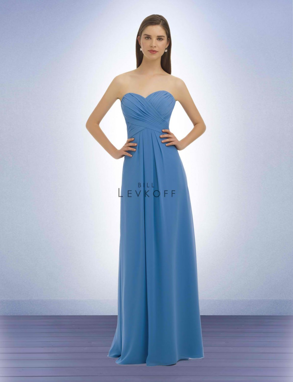 Bill Levkoff Bridesmaid Dress Style 329 - Chiffon Dress
