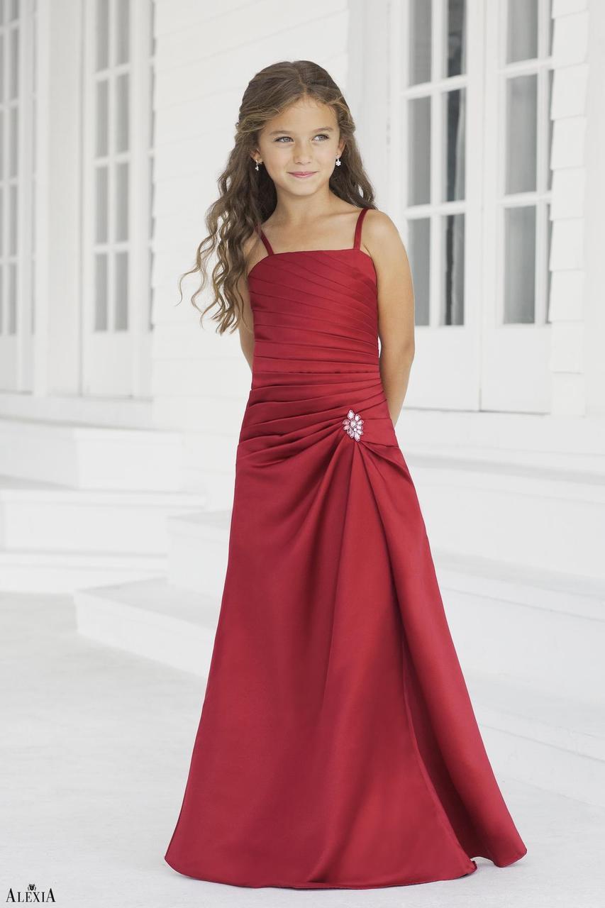 Alexia Designs Junior Bridesmaids Style 38| Junior Bridesmaids Dresses