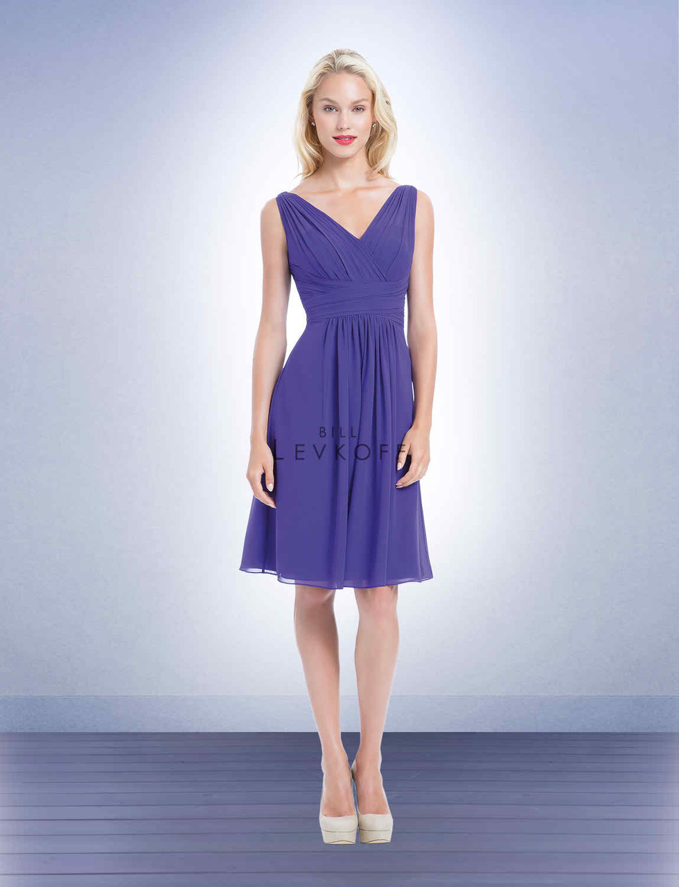 Bill Levkoff Bridesmaid Dress Style 1155 - Chiffon | DISCONTINUED