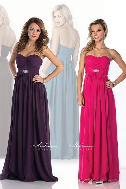 Milano Formals Prom Dresses Strapless