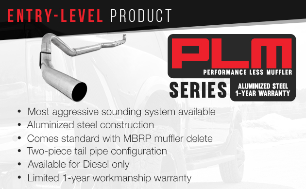 MBRP PLM Series Exhaust