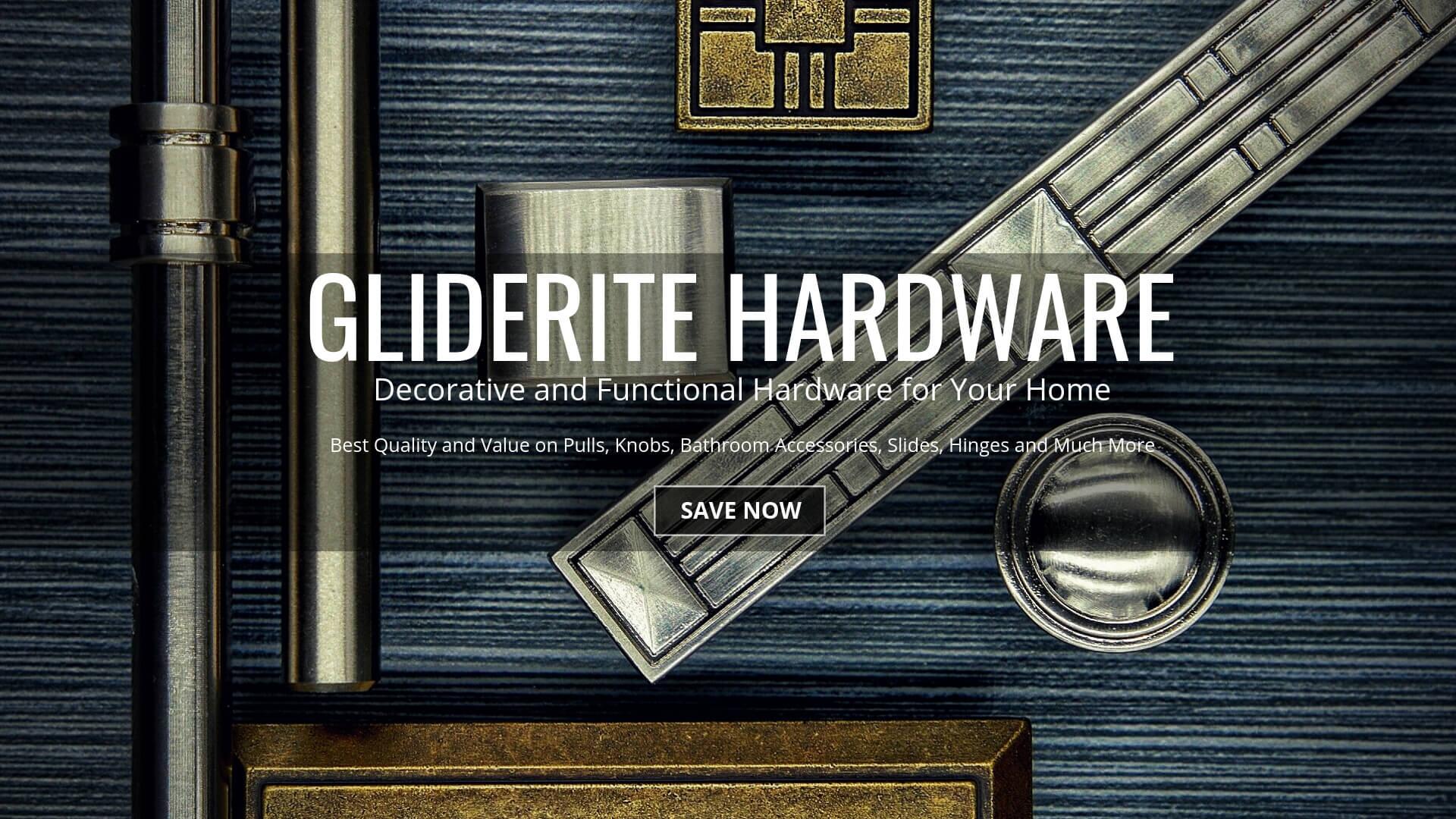 GlideRite Hardware Decorative Pulls and Knobs