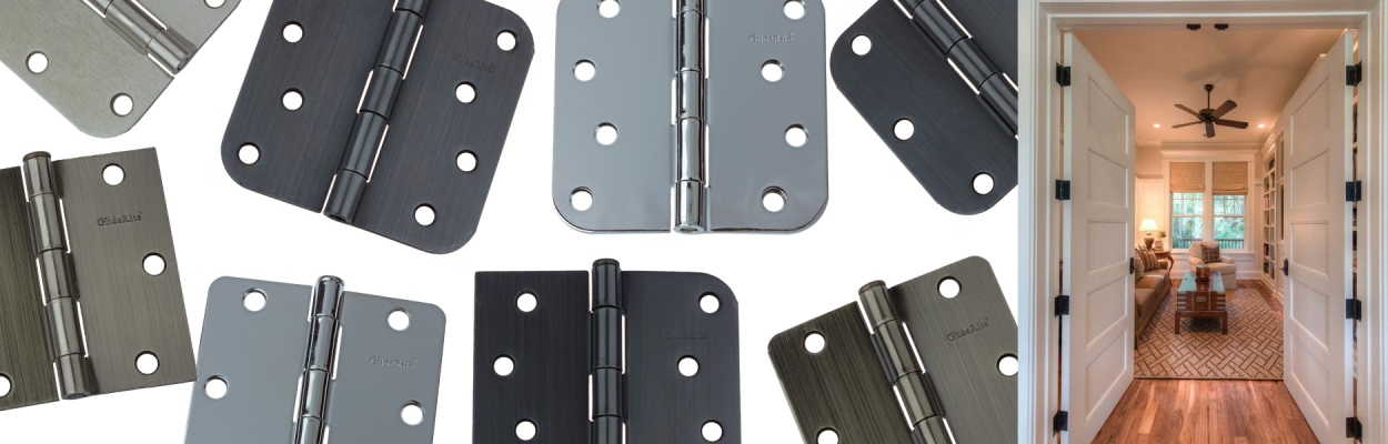 Door Hinges by GlideRite Hardware