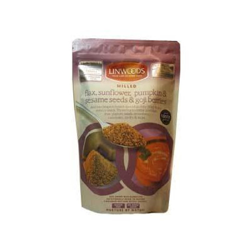 Milled Flax Sunflower Pumpkin Sesame Seeds Goji Berries 425g