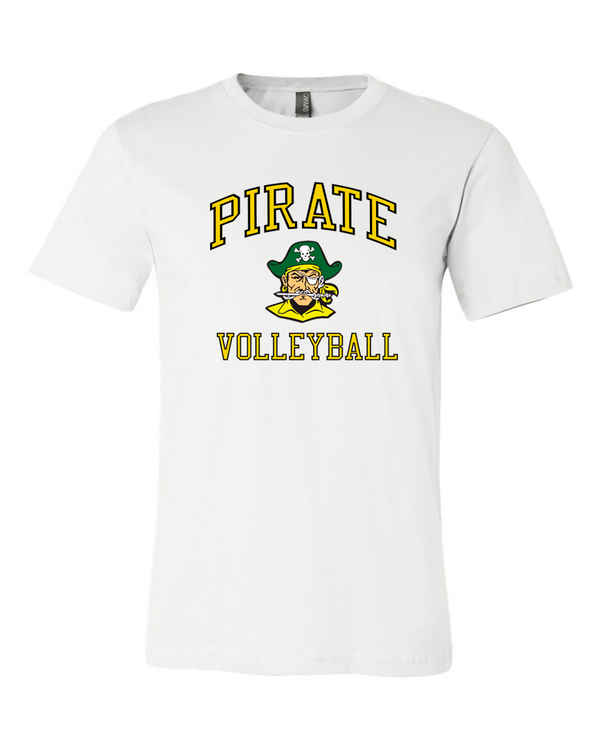 WWPS Volleyball everyday tee in white