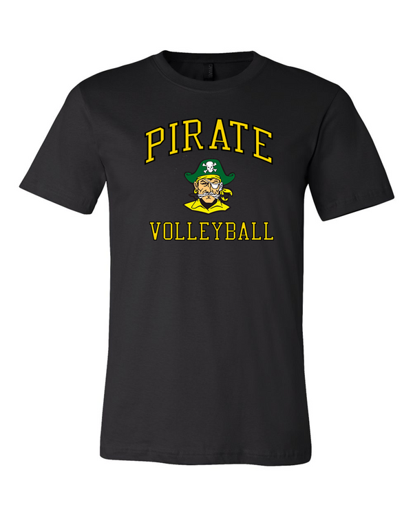 WWPS Volleyball everyday tee in black